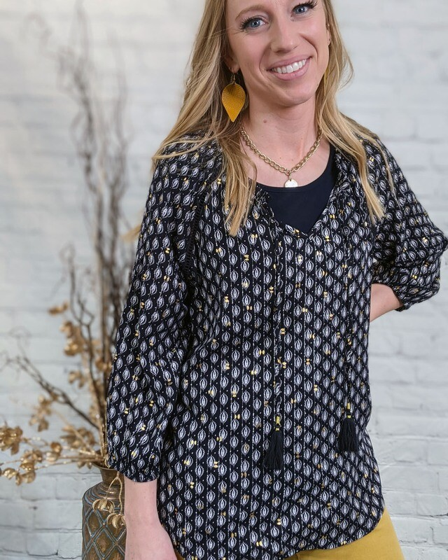 Cara Blouse by Tribal