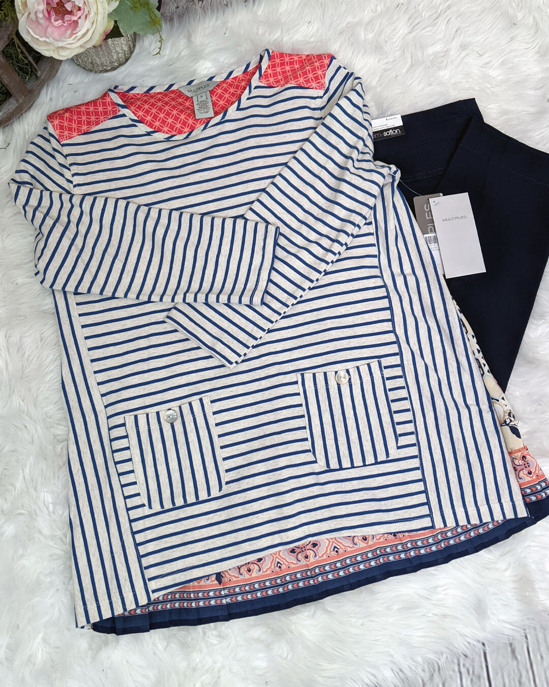 Enid Top by Multiples