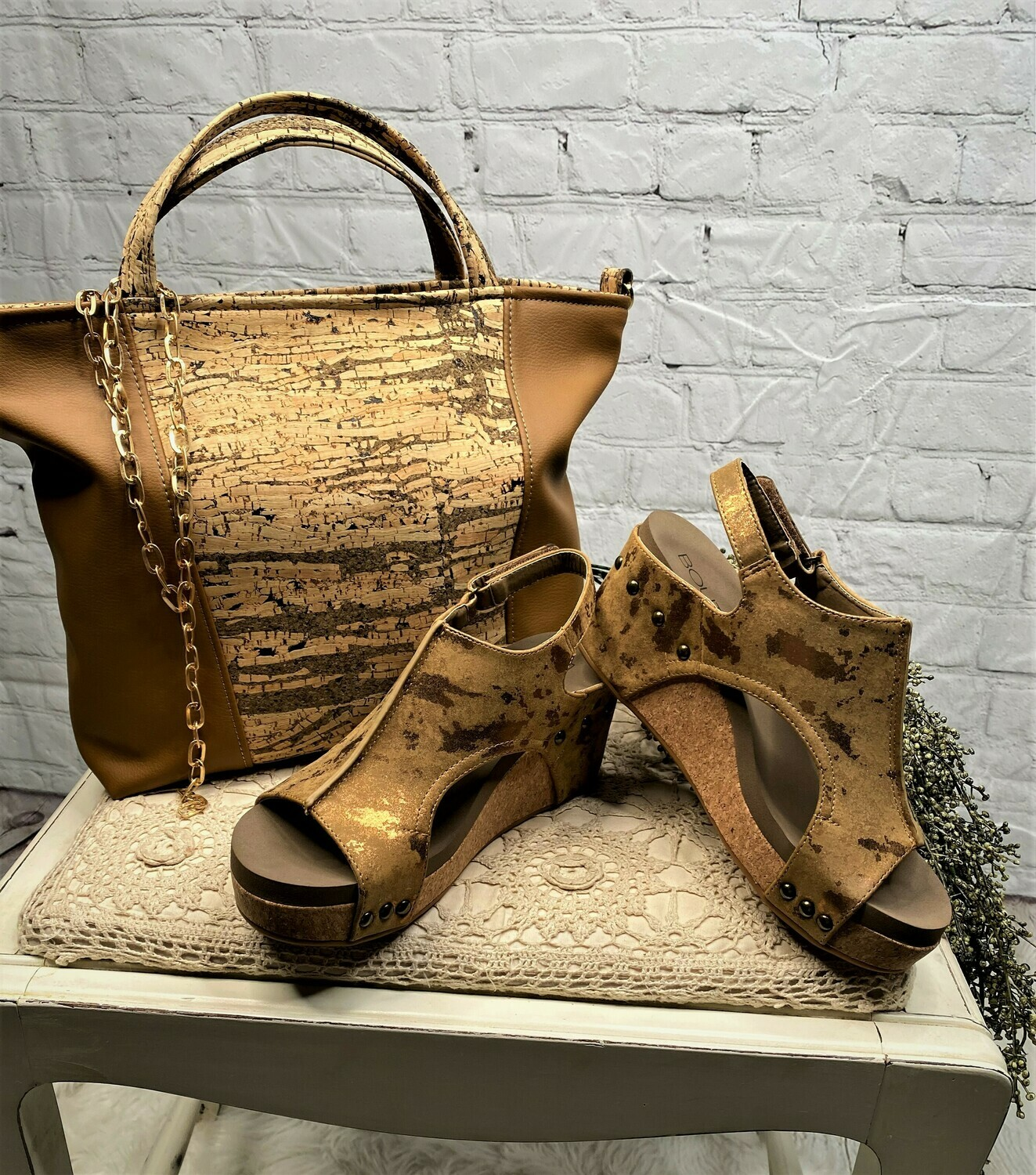 Carley Wedge by Corky's