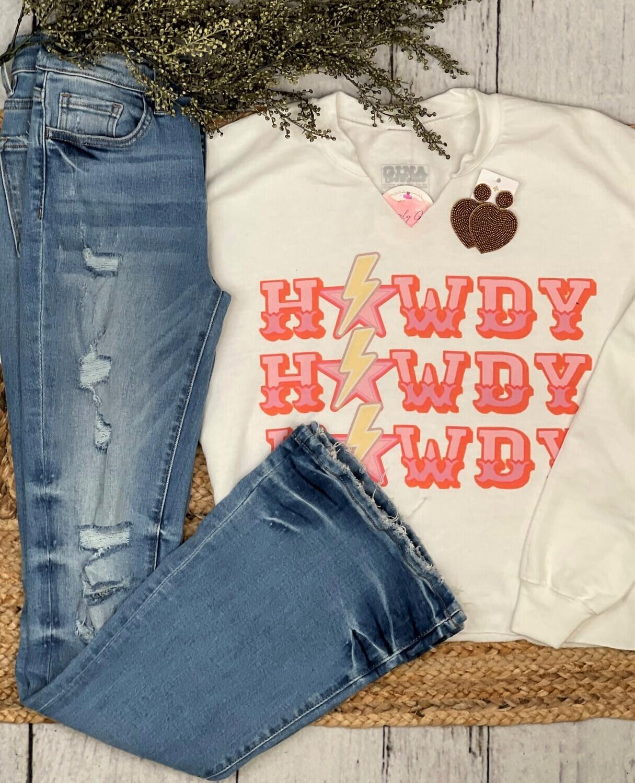 Howdy Sweater