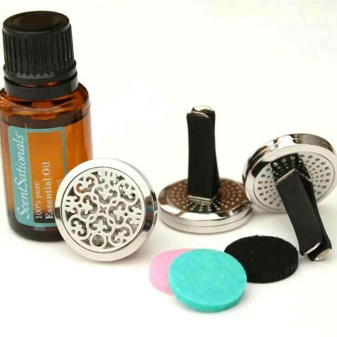 Essential Oil Diffuser, Clip-On