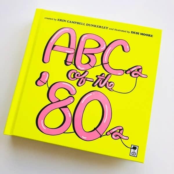 ABC's of the 80's Board Book