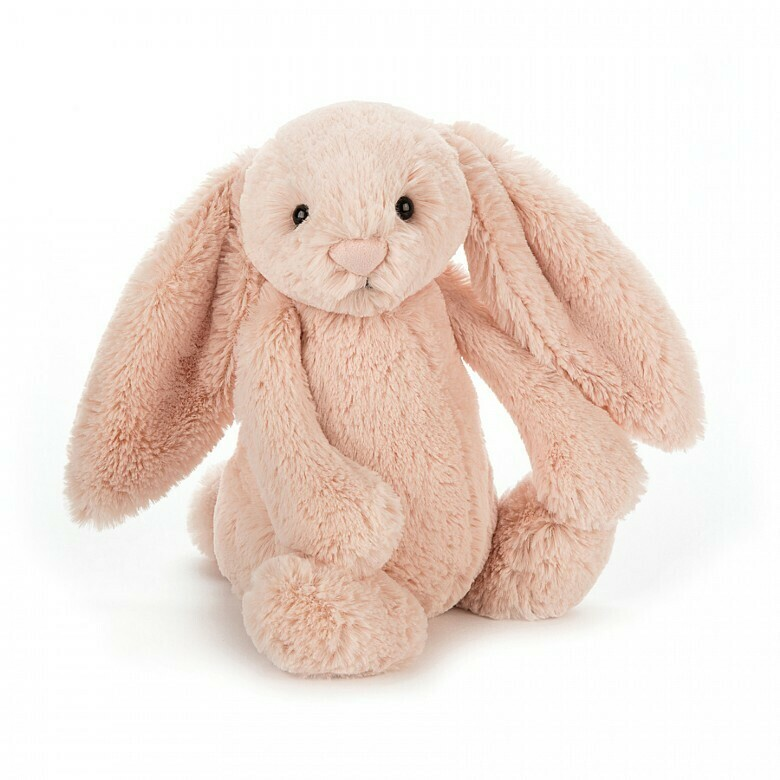Bashful Bunny Plush, Pink