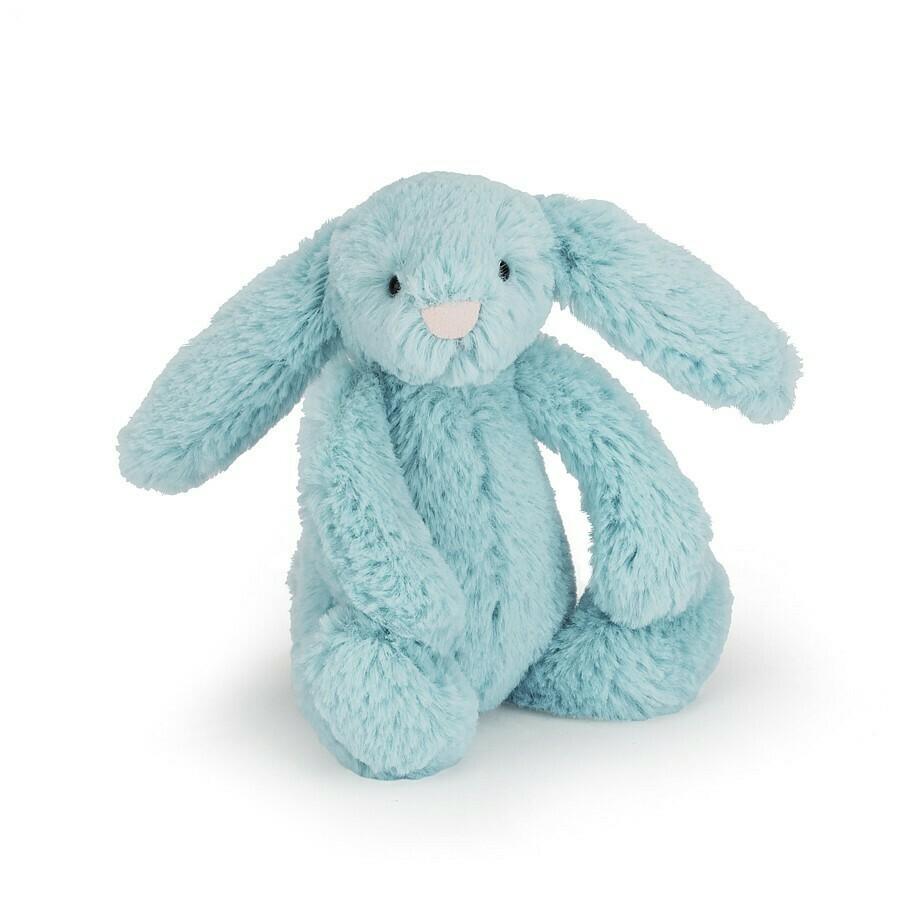 Bashful Bunny Plush, Blue