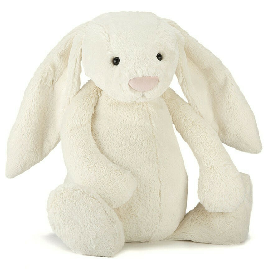 Bashful Bunny Plush, Cream