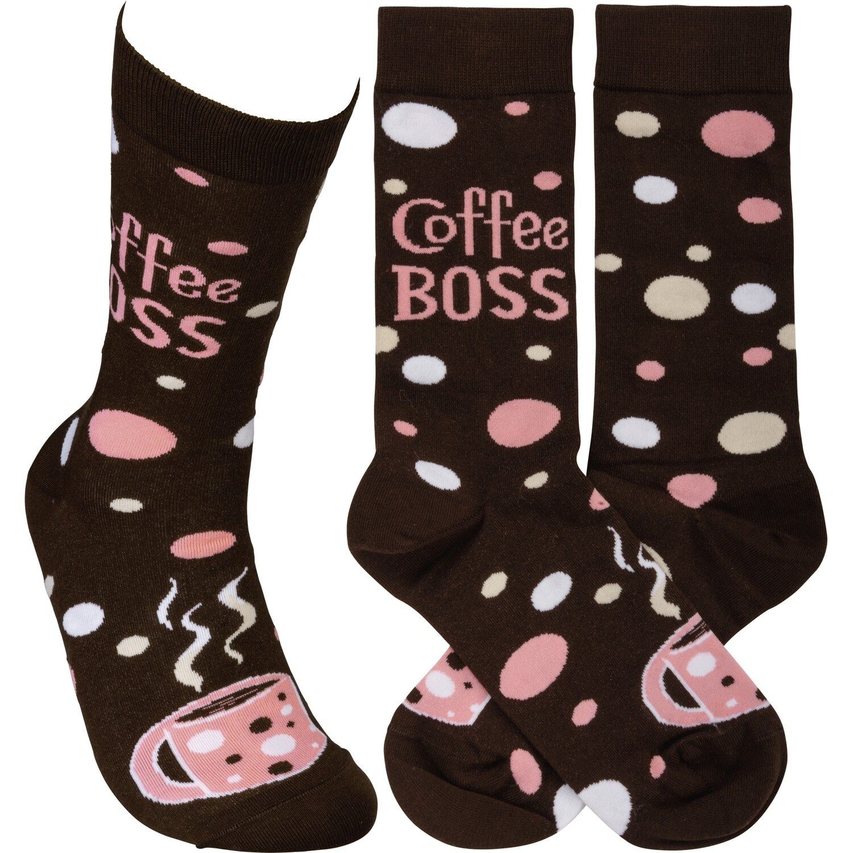 Coffee Boss Socks