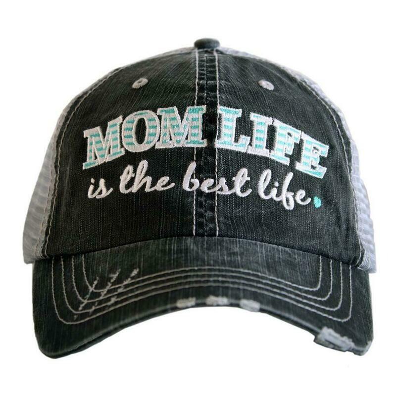 Trucker Cap Mom Life Is The Best Life