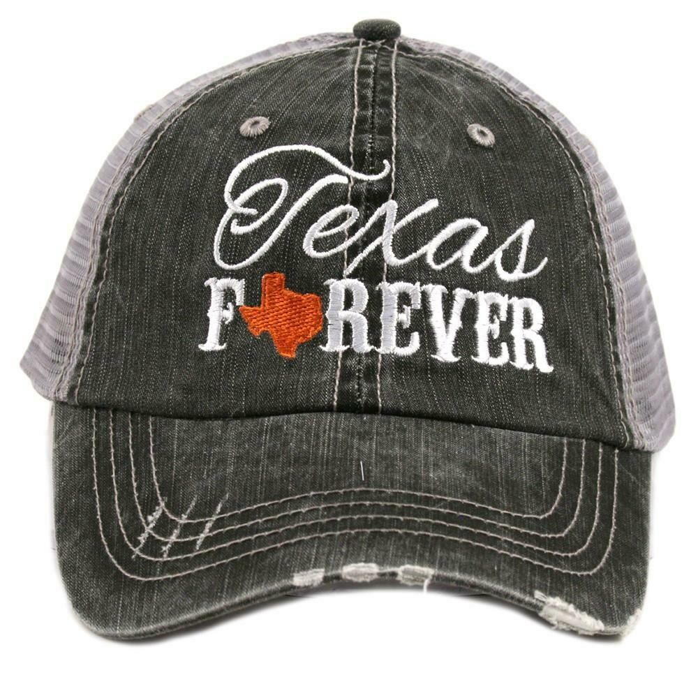 Trucker Cap Texas Forever Burnt Orange