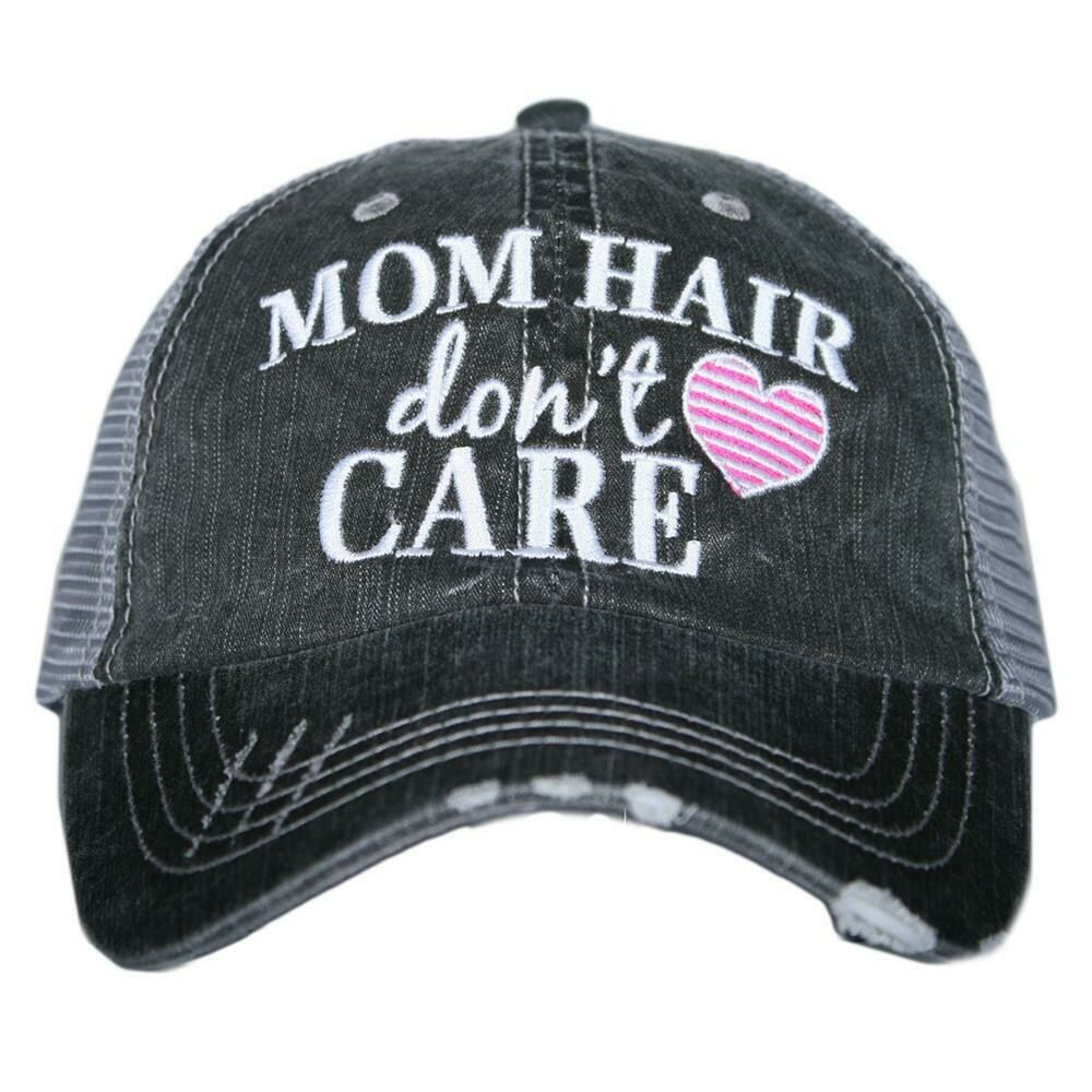 Trucker Cap Mom Hair Don't Care