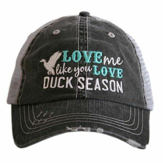 Trucker Cap Love Me Like You Love Duck Season