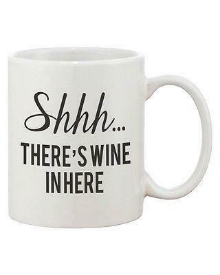 Shhh...There's Wine In Here Mug