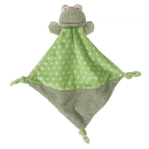 Frog Knotty Blankie