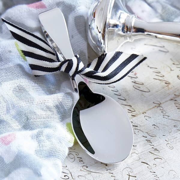 Bent Handle Keepsake Baby Spoon