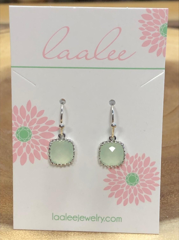 Laalee Dainty Earrings Light Mint