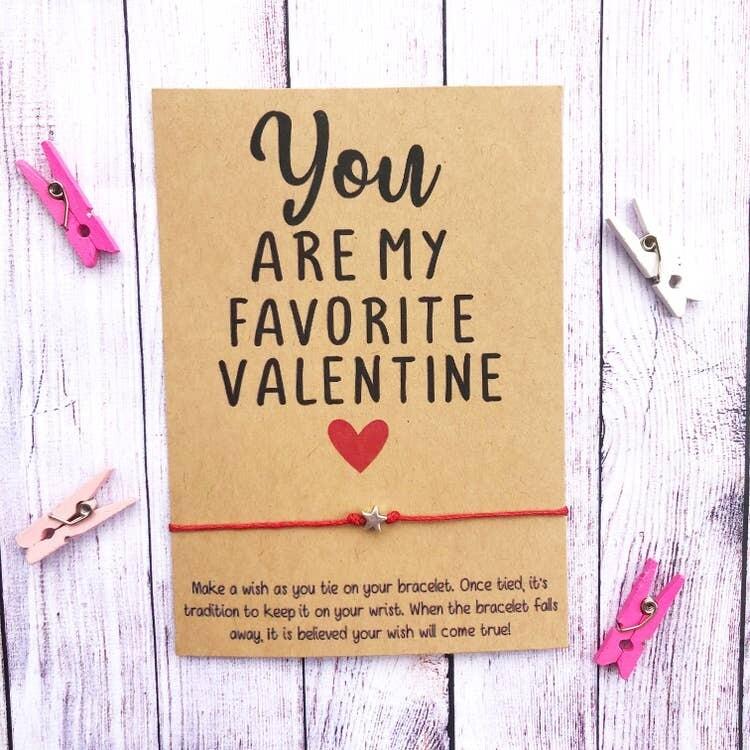 Wishlet Bracelet You Are My Favorite Valentine