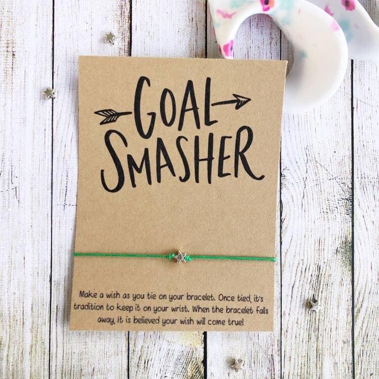 Wishlet Bracelet Goal Smasher