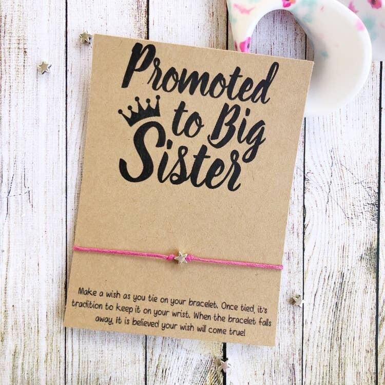 Wishlet Bracelet Promoted To Big Sister