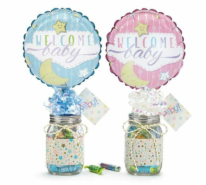 Welcome Baby Giftable Candy Jar