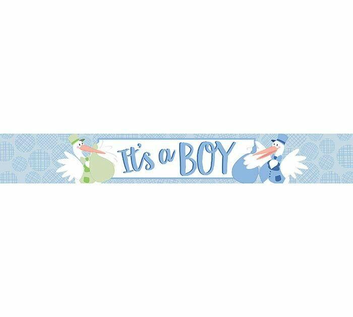 It's a Boy Mylar Banner