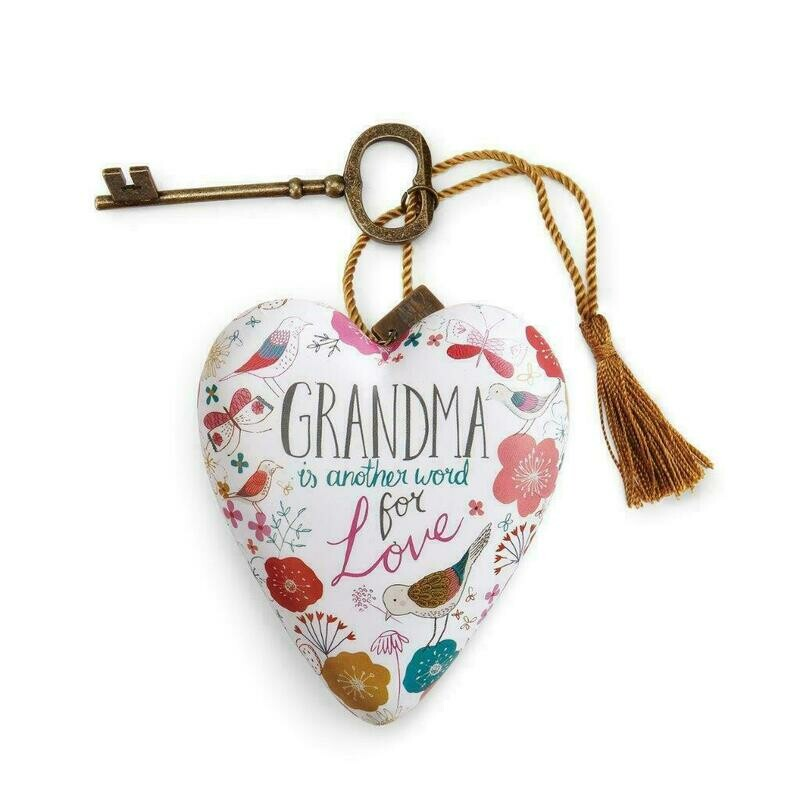 Art Heart Grandma Is Another Word For Love