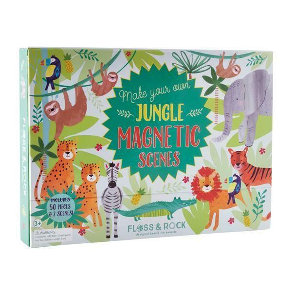 Jungle Magnetic Play Scene