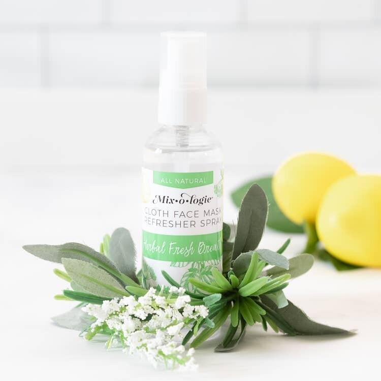 Face Mask Refresher Spray - Fresh Herbal Mint