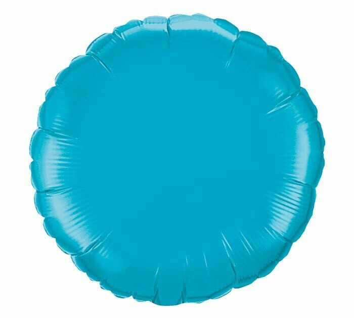 Solid Turquoise Balloon