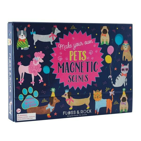 Pets Magnetic Play Scene