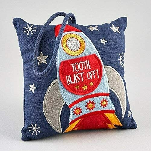 Rocket Tooth Fairy Pillow