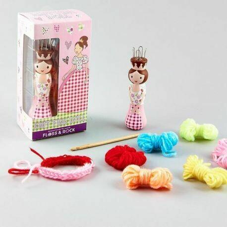 Princess Knitting Doll