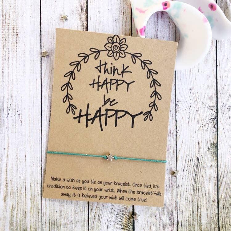 Wishlet Bracelet Think Happy Be Happy