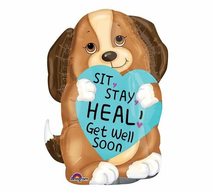 Sit Stay Heal Balloon 24""