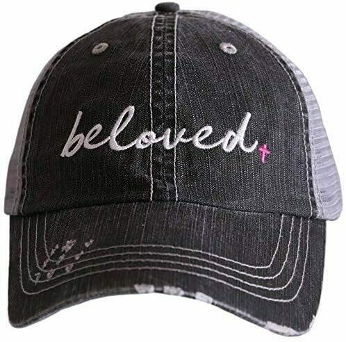 Trucker Cap Beloved Pink Cross