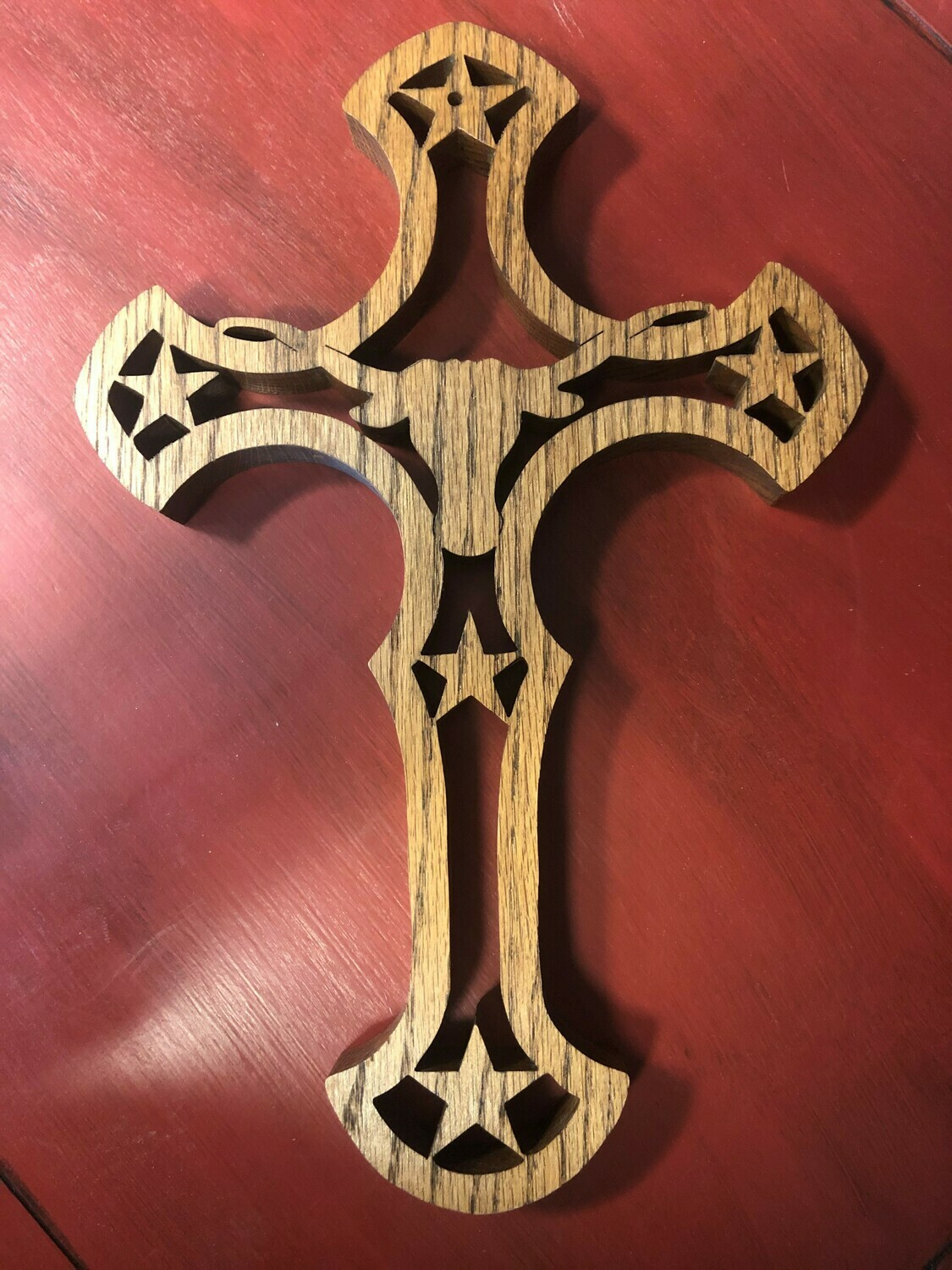 Longhorn Oak Cross