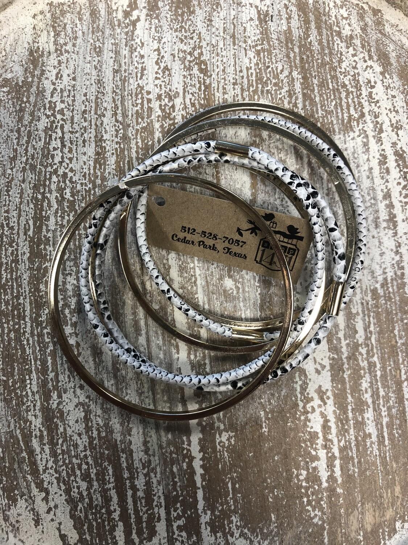 Animal Print Bracelet Set of 7