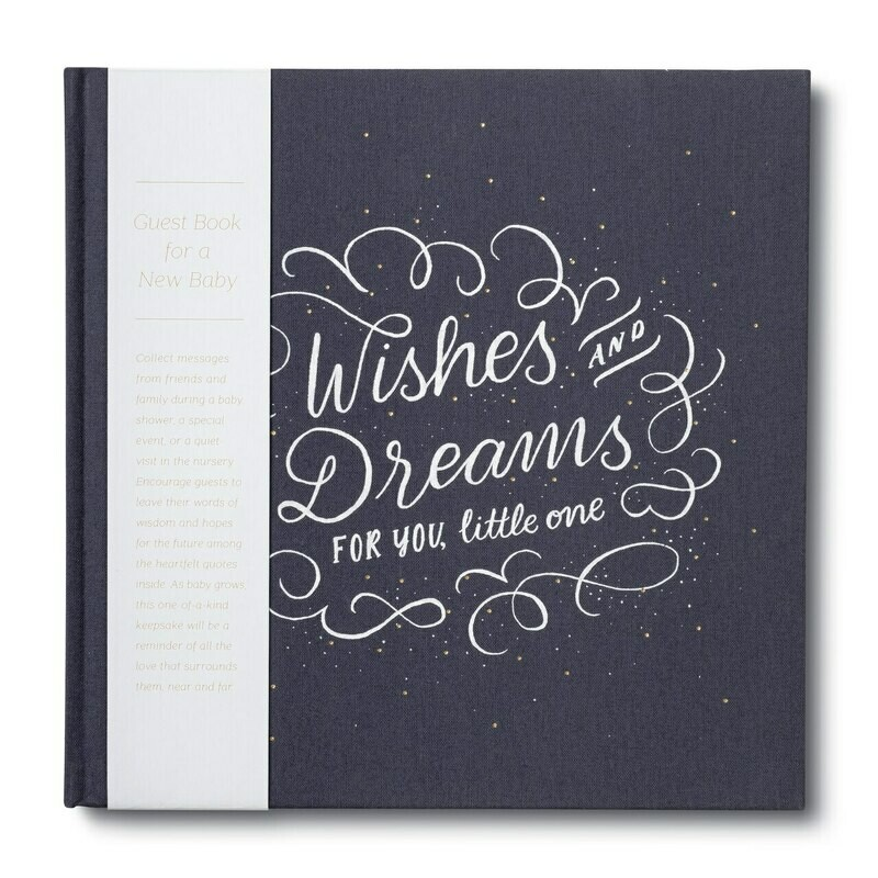 Wishes And Dreams For You, Little One Guest Book