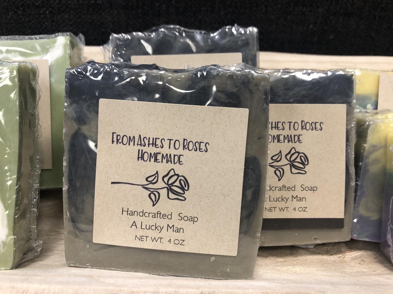 A Lucky Man Artisan Soap