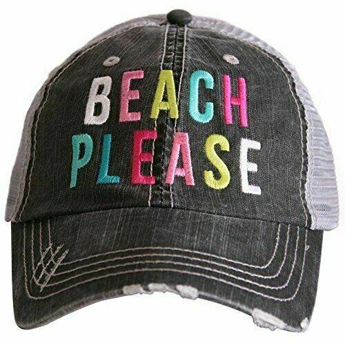 Trucker Cap Beach Please
