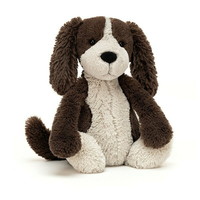 Bashful Fudge Puppy Plush