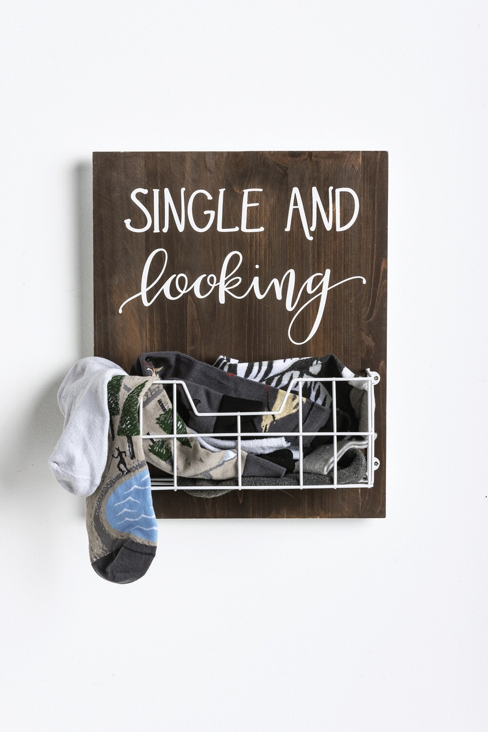 Single And Looking Lost Sock Holder