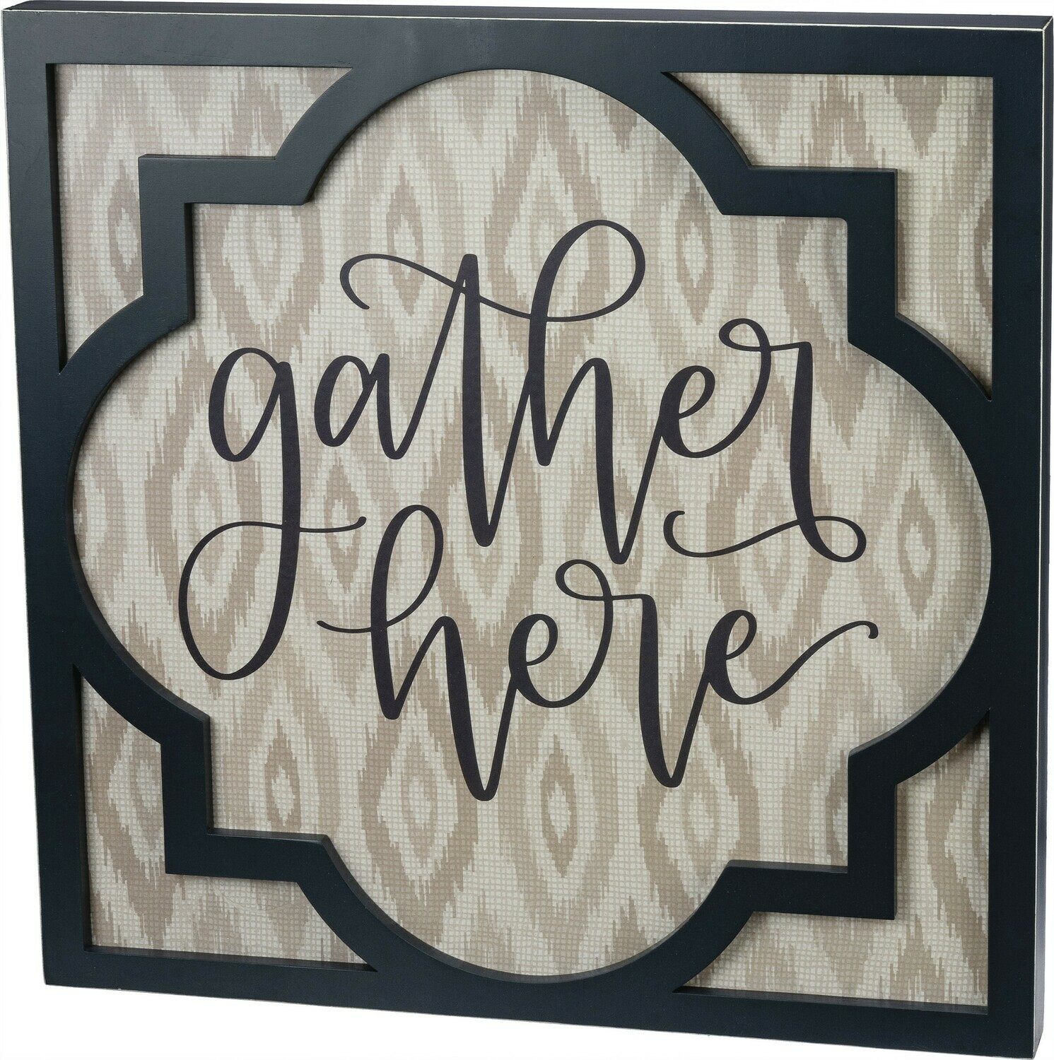 Gather Here Sign 20x20