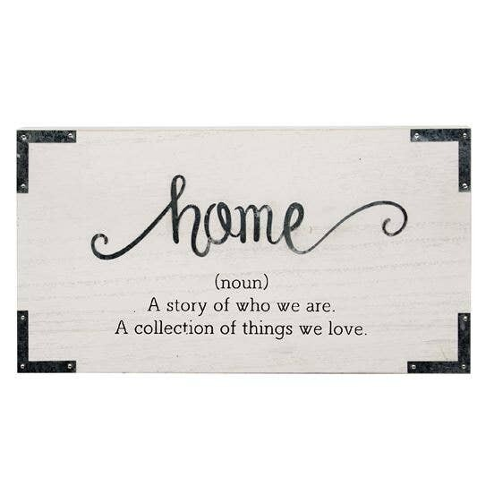 Home. A Story of Who We Are Sign