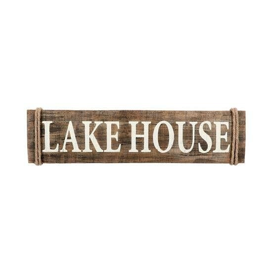 Lakehouse Rustic Sign