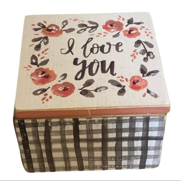 I Love You Hinged Box