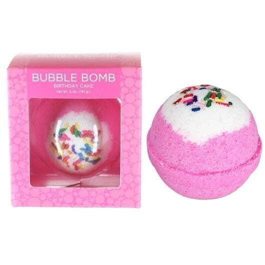 Birthday Cake Bubble Bath Bomb