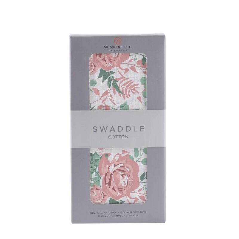 Desert Rose Swaddle Blanket