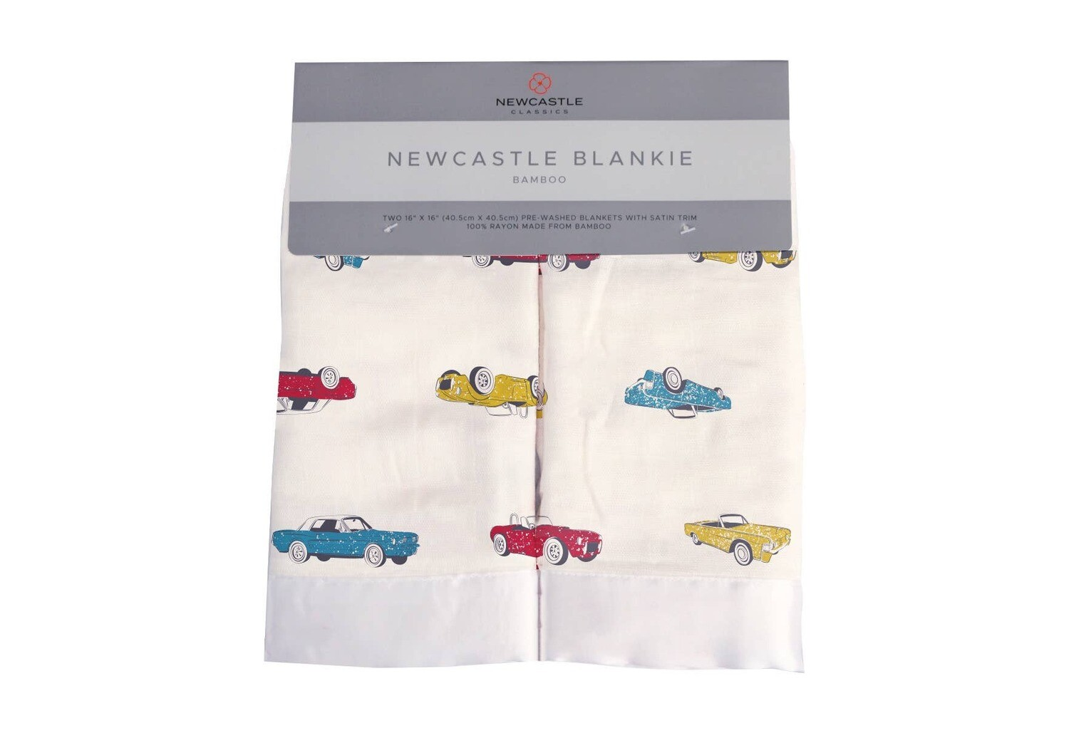 Vintage Muscle Cars Travel Blankie Set of 2