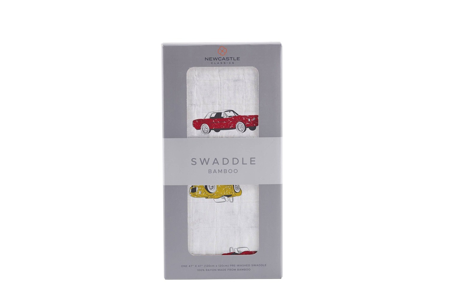 Vintage Muscle Cars Swaddle Blanket