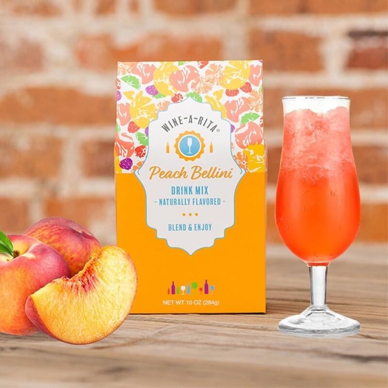 Peach Bellini Wine A Rita Mix