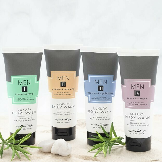 Mix-o-logie for Men Scented Body Wash